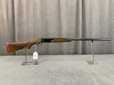"""32. Lefever 12ga Side-By-Side, Double Triggers, 28"""" Barrels SN: Not Visible"""