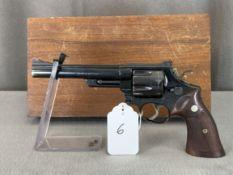 6. S&W Model 29 .44 Mag w/ Pres. Case & Accessories SN: 9192906