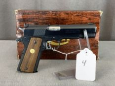 """4. Colt 1911 Mk 4 Series 70 .45 Auto Gold Cup National Match, 5"""" Barrel SN: 70N97151"""