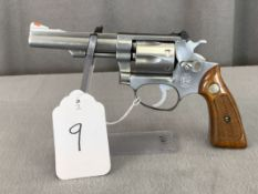 """9. S&W Mod. 63 (No Dash) .22LR Stainless, 4"""" Pinned & Recessed Barrel SN: M166218"""