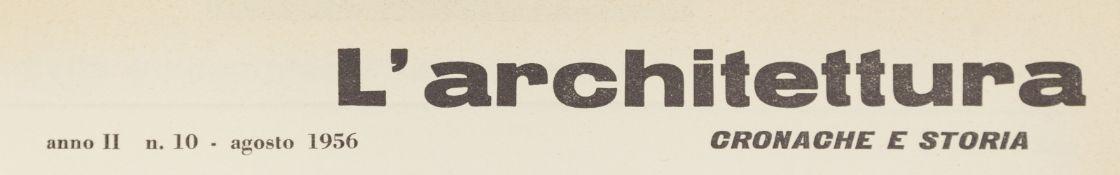Architektur. – L'Architettura.