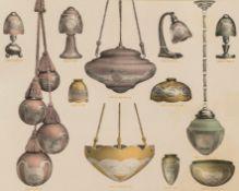 Beleuchtung. – Katalog zu Beleuchtungsgläsern.