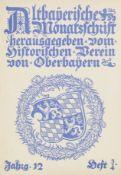 Bayern. – Altbayerische Monatsschrift.