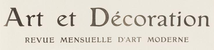 Art Nouveau. – Art et Décoration.