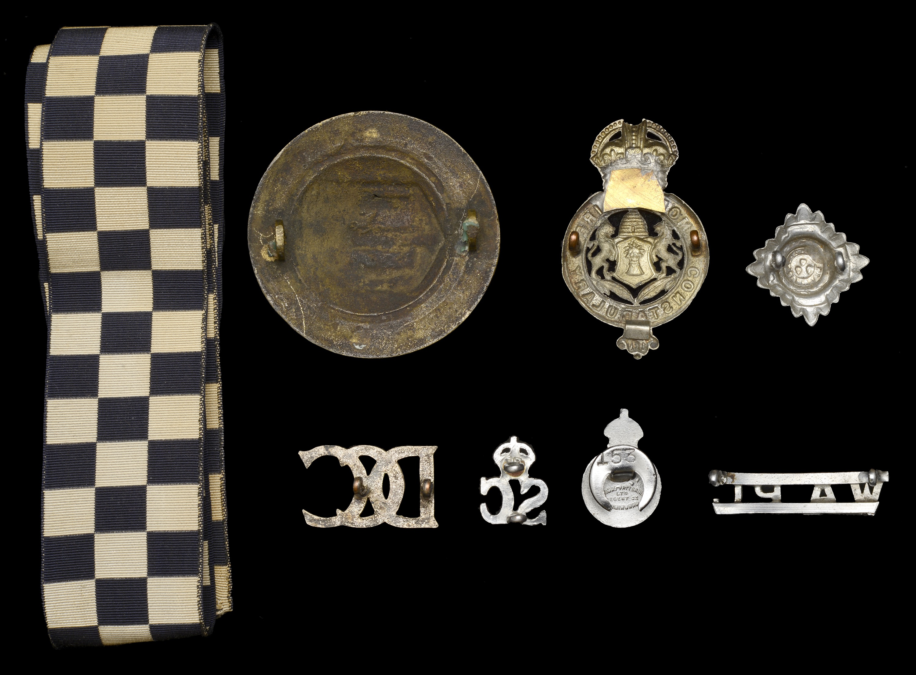 A small Collection of Scottish Police Badges - Image 2 of 2