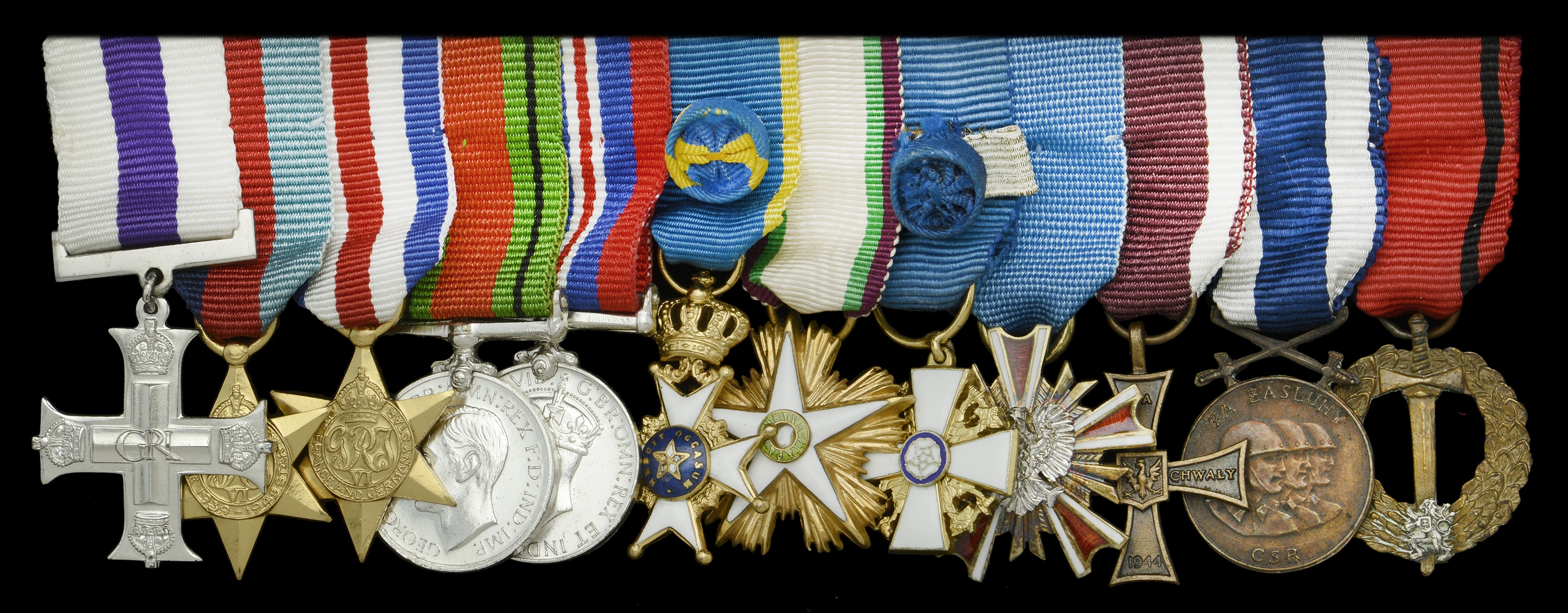Groups and Single Decorations for Gallantry - Image 2 of 11