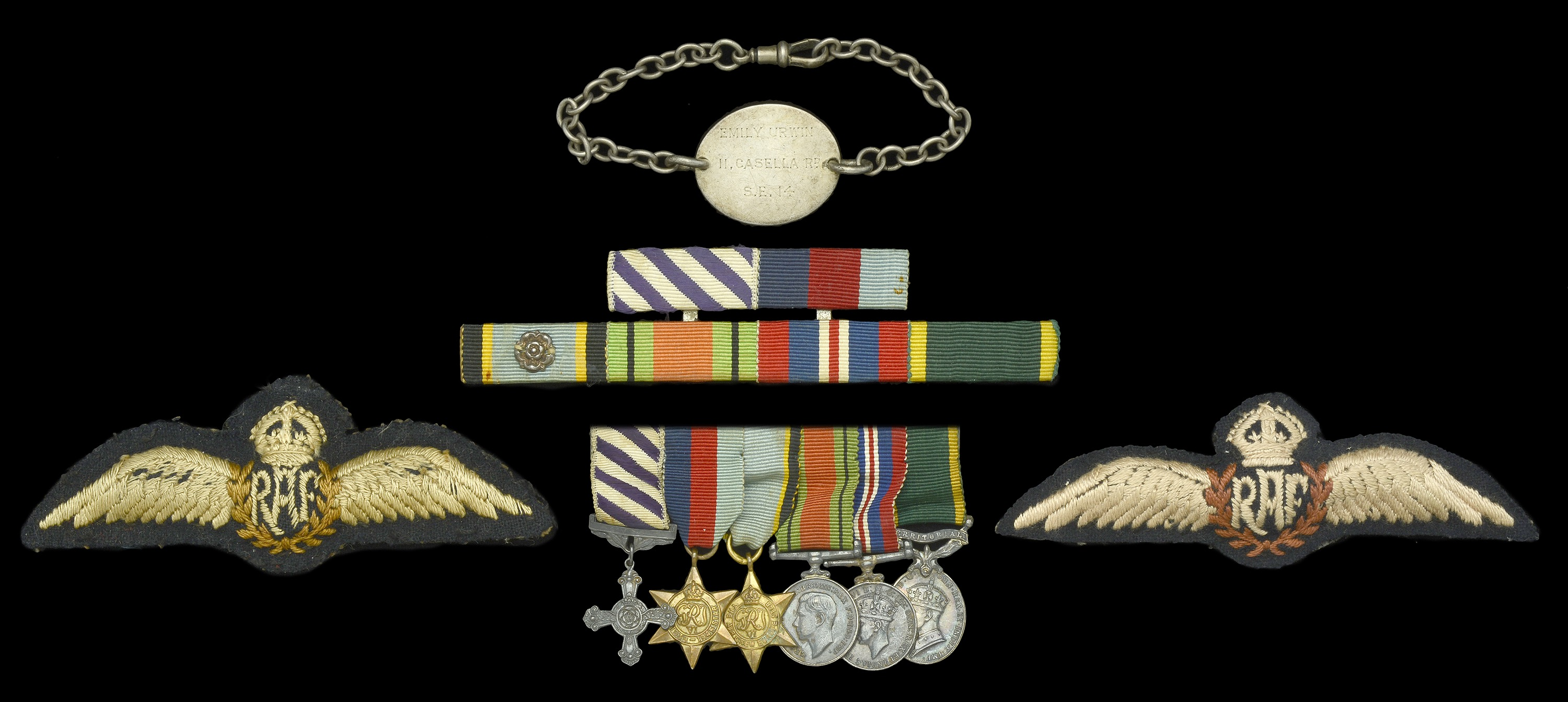 Groups and Single Decorations for Gallantry - Image 3 of 7