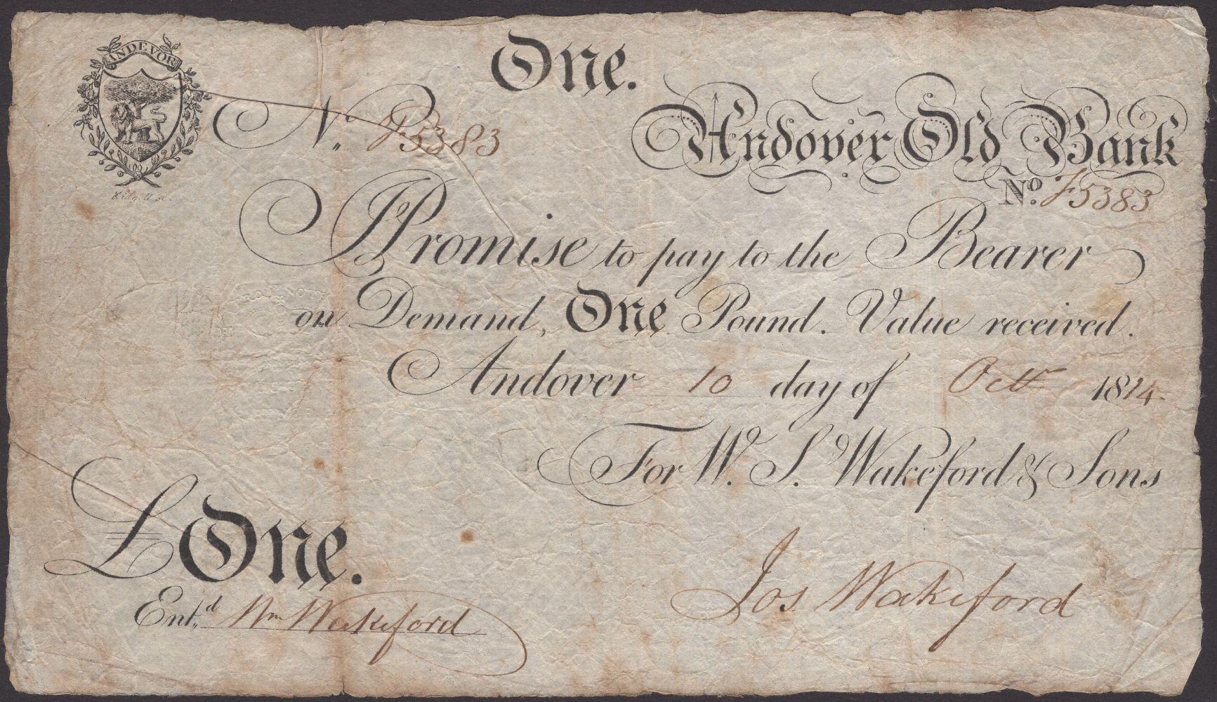 British, Irish and World Banknotes
