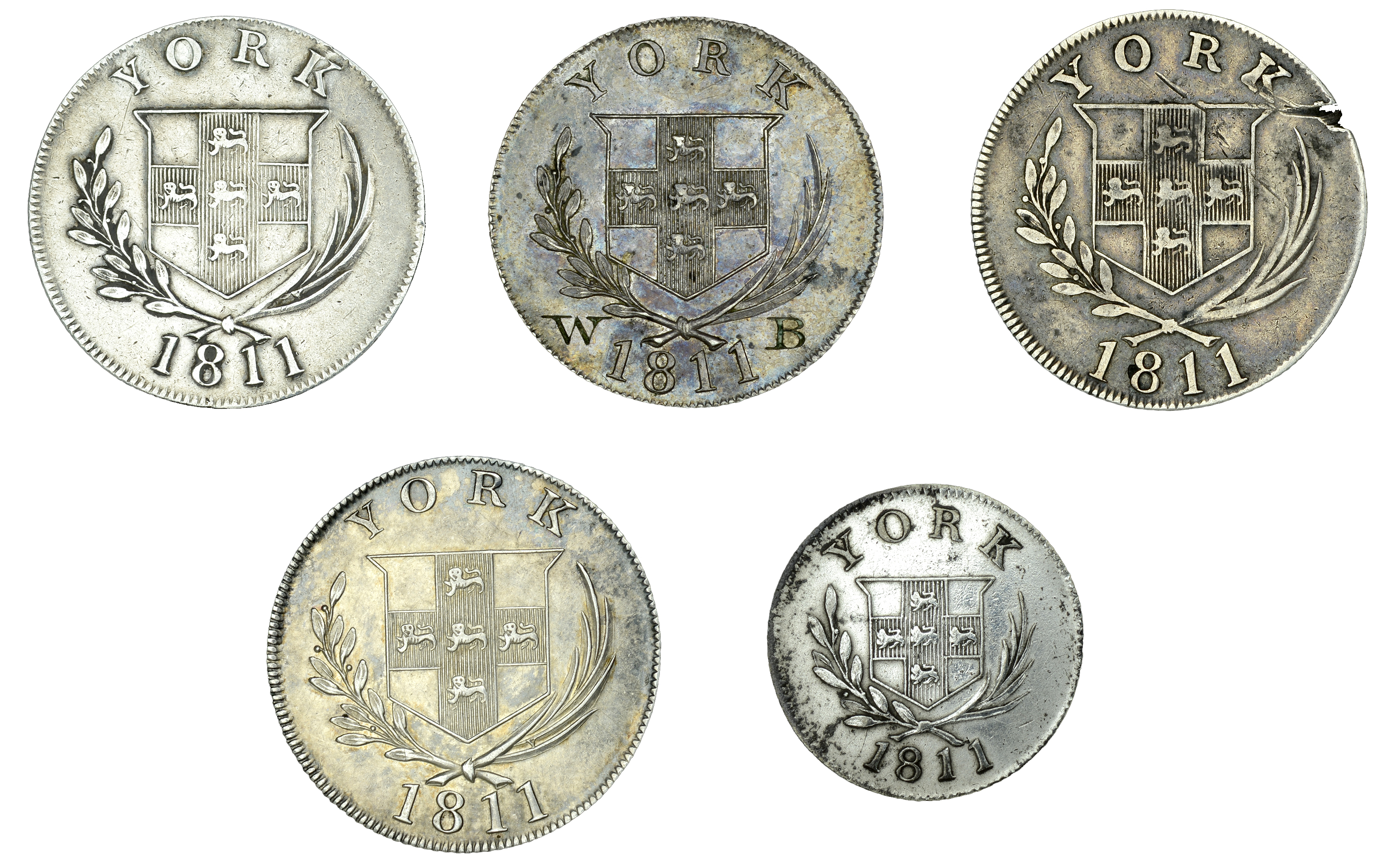 The Collection of 19th Century Tokens formed by John Akins (Part II) - Image 2 of 2
