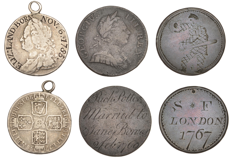British Tokens from Various Properties