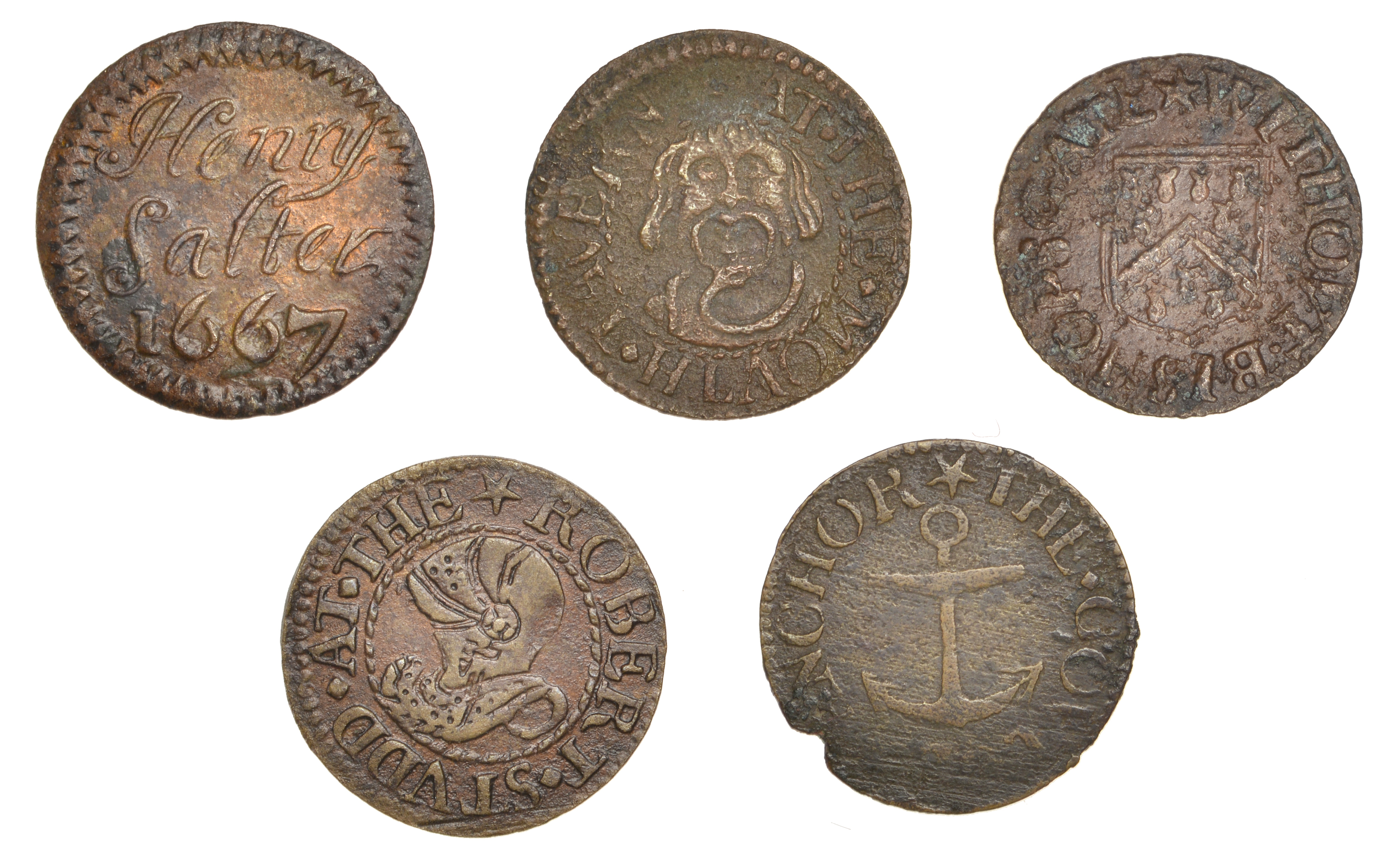 The Collection of 17th Century Tokens formed by the late Robert Thompson (Part III: Final)