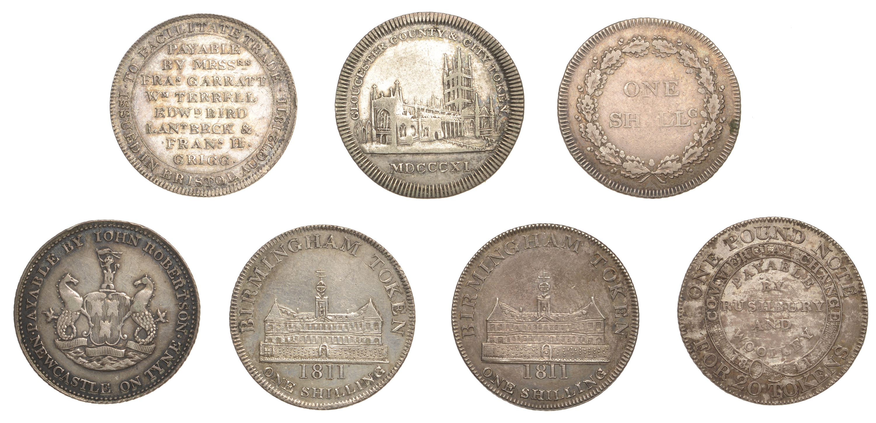 British Tokens from Various Properties - Image 2 of 2