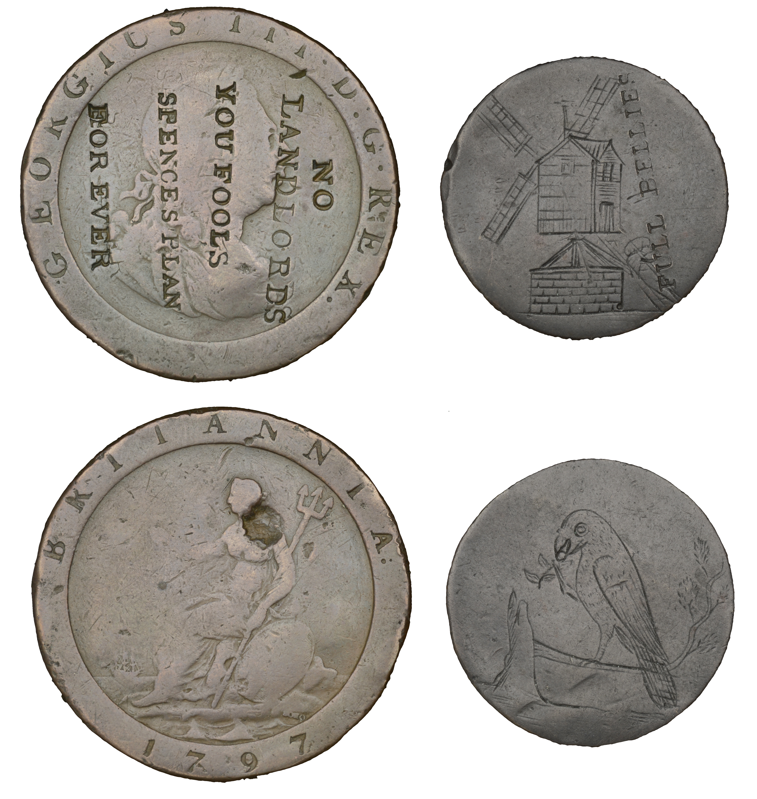 British Tokens from the Collection of the late Bill McKivor