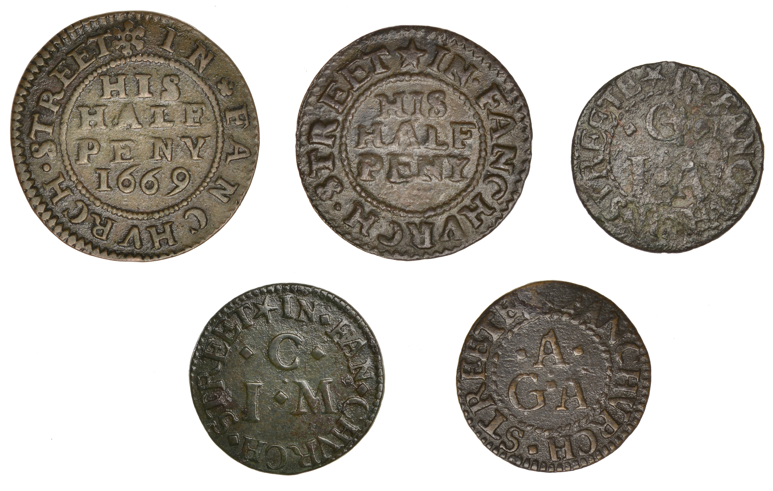 The Collection of 17th Century Tokens formed by the late Robert Thompson (Part III: Final) - Image 2 of 2