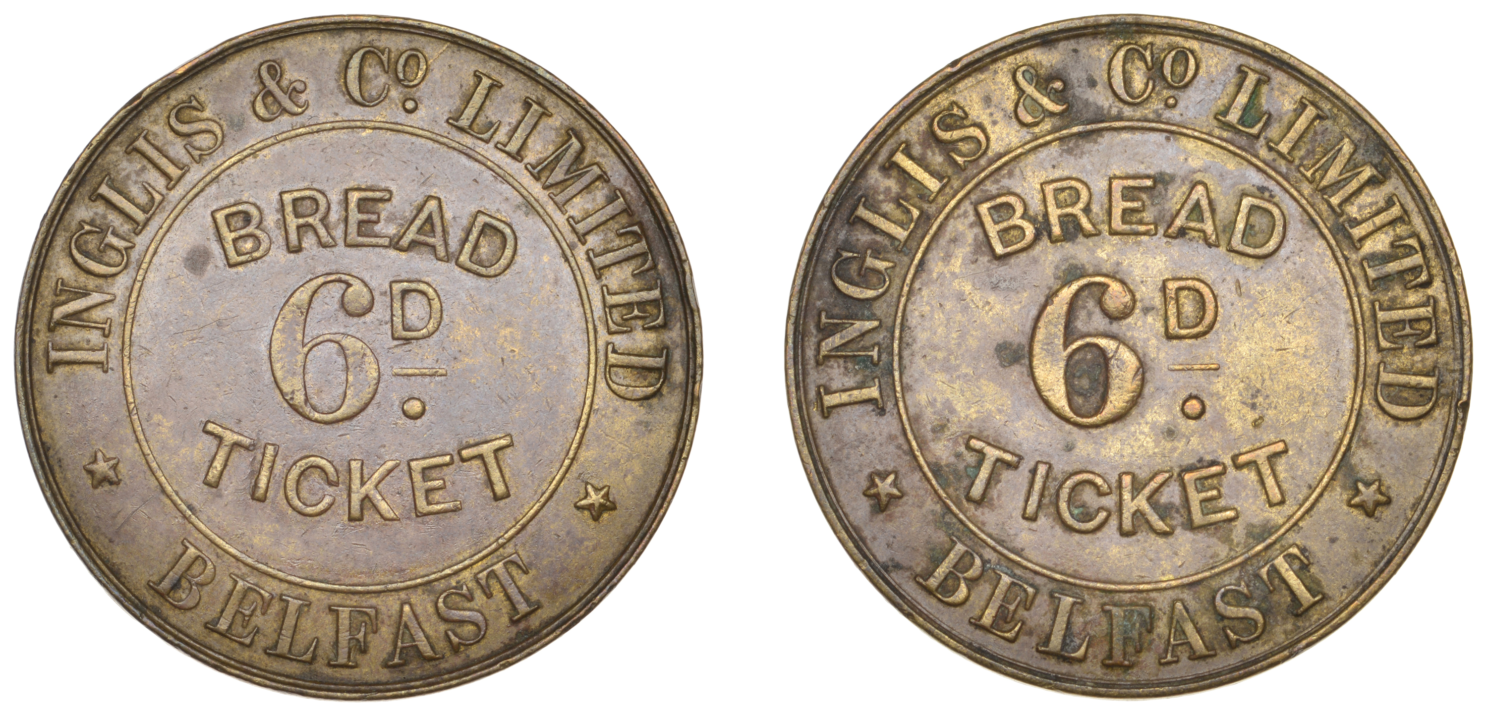 Irish Tokens from the Collection of the late Barry Woodside
