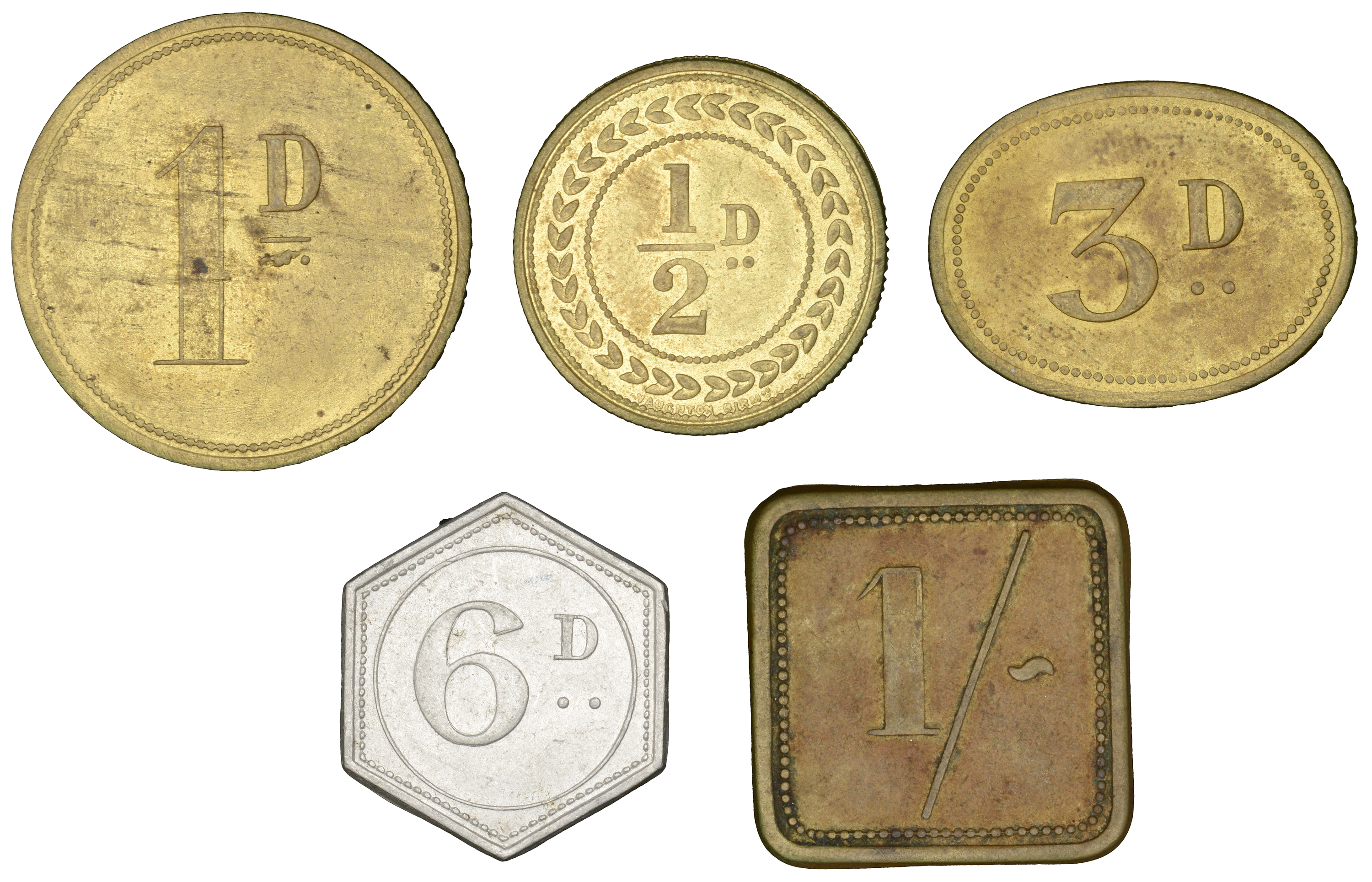 Irish Tokens from the Collection of the late Barry Woodside - Image 2 of 2