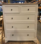 JOHN LEWIS ST IVES 5 DRAWER CHEST