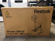 REEBOK Z-POWER EXERCISE BIKE, BLACK