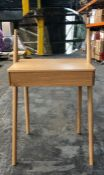 HOUSE BY JOHN LEWIS BOW DRESSING TABLE IN OAK