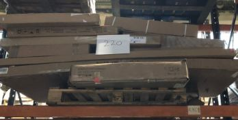 1 X BULK PALLET TO CONTAIN AN ASSORTMENT OF WAYFAIR GRADE A/D FURNITURE AND BED LOTS / SOME SETS MAY