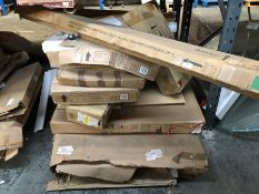 1 X BULK PALLET TO CONTAIN AN ASSORTMENT OF JOHN LEWIS GRADE A-D FURNITURE / CONDITIONS VARY, SETS