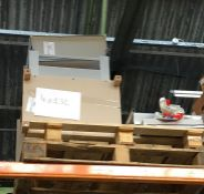 1 X BULK PALLET OF JOHN LEWIS GRADE C/D FURNITURE AND OTHER PART LOT FURNITURE / COLOURS, SIZES
