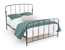 LA REDOUTE AMONE METAL BED WITHOUT BASE / SIZE: DOUBLE (140 X 190CM)