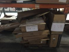 1 X BULK PALLET TO CONTAIN AN ASSORTMENT OF LA REDOUTE GRADE C AND D FURNITURE / CONDITIONS, COLOURS