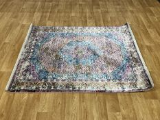 LA REDOUTE DISTRESSED TRADITIONAL RUG - MULTI / SIZE: 120 X 170CM