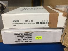 1 LOT TO CONTAIN 2 BOXES OF SUSPENSION FILES