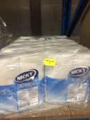 1 LOT TO CONTAIN A 10 PACK MULTIPACK OF NICKY SOFT TOUCH 2 PLY WHITE TOILET ROLLS, 40 ROLLS IN TOTAL