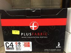 1 LOT TO CONTAIN A BOX OF PLUS FABRIC C4 BRIGHT WHITE POCKET ENVELOPES 324 X 229MM