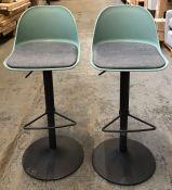 HOUSE BY JOHN LEWIS WHISTLER GAS LIFT ADJUSTABLE BAR STOOLS (SET OF 2)