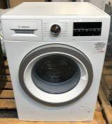 BOSCH SERIE 6 WAU28T64GB FREESTANDING WASHING MACHINE