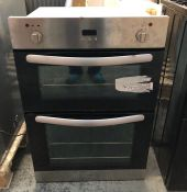 WHIRLPOOL OVEN - AKP 161/02/IX / CONDITION REPORT: UNTESTED CUSTOMER RETURN. HEAVILY USED, ONE METAL