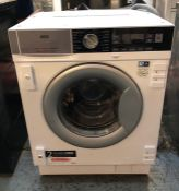 AEG INTERGRATED WASHING MACHINE - L7FC8432BI / RRP £699.99 / CONDITION REPORT: UNTESTED CUSTOMER