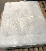 1 X COOLTOUCH KING SIZED MATTRESS (150 X 200CM) / CONDITION REPORT: DIRT STAIN IN MIDDLE OF MATTRESS
