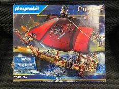 1 X PLAYMOBIL PIRATES SHIP - 70411 / RRP £65.00