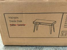 JOHN LEWIS HAIRPIN DESK