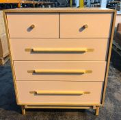 JOHN LEWIS SOFT EDGE 5 DRWAER CHEST
