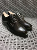ONE PAIR OF LA REDOUTE COLLECTIONS LACE UP BROGUES IN BLACK - SIZE EU 36. RRP £42.00 GRADE A - AS