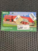 1 X BRIO WORLD STREAM LINE TRAIN - 33557 / RRP £21.00