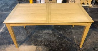 JOHN LEWIS ALBA 6-8 SEATER EXTENDING DINING TABLE