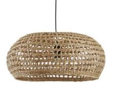 LA REDOUTE CEILING LAMPSHADE IN NATURAL DENKA LINTEL