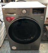 LG WIFI-ENABLED WASHER DRYER - FWV685SSE / RRP £679.99 / CONDITION REPORT: UNTESTED CUSTOMER RETURN.