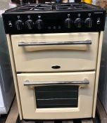 BELLING FARMHOUSE 60G DUAL GAS COOKER - CREAM