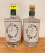 2 x CEDER'S CLASSIC DISTILLED NON-ALCOHOLIC GIN 50CL