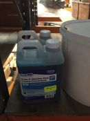 1 LOT TO CONTAIN 1 X ZENITH GLASS AND STAINLESS STEEL CLEANER CONCENTRATE SA61 2L BOTTLE AND 1 X