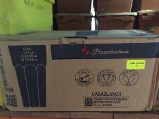 1 LOT TO CONTAIN A BOX OF 12 X CASABLANCA TUMBLERS