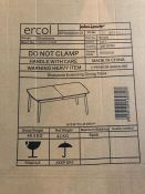 ERCOL FOR JOHN LEWIS SHALSTONE 6-8 SEATER EXTENDING DINING TABLE